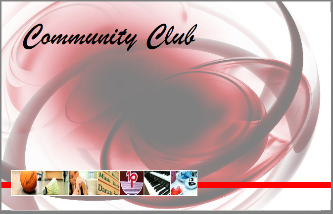 Community Club Card View