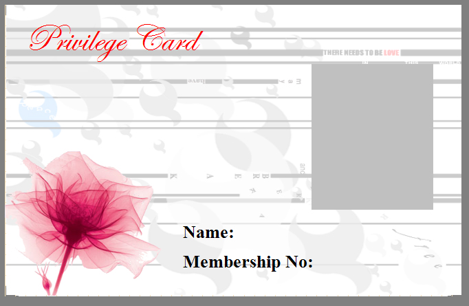 Privilege Card View
